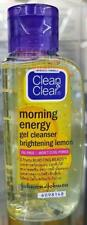 Clean and Clear Gel Cleanser Facial Wash Oil Free Brightening Lemon 50ml.