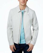 $175 Tommy Hilfiger Nylon White Lightweight Jacket Mens...