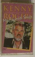Kenny Rogers Cassette Tape My Favorite Songs Country Music