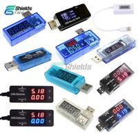 USB OLED LED Battery Charger Power Current Voltage Voltmeter Ammeter Detector