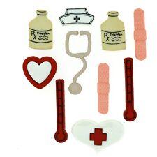 Jesse James Buttons - Dress It Up ~ Say Ahhh 1281 ~ Doctor ~ Nurse ~ Hospital