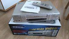 SAMSUNG SV-5000W in tutto il mondo VHS VIDEO PAL SECAM NTSC in Scatola