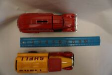 2 Fire Truck Coin Bank Ertl Collectibles Red 1939 Dodge Airflow Shell Texaco Gas