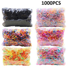 1000PC Hair Accessories For Girl Elastic Hairband Rubber Elasticity Hair Holder
