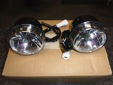 suzuki DL1000 V-STROM 2014> LED FOG LAMP LIGHTS ONLY NEW IN BOX (S2)