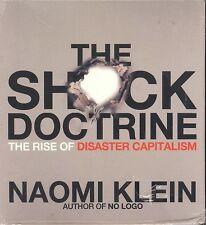 Naomi Klein The Shock Doctrine audiobook CD NEW