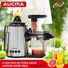 2 In 1 Slow Juicer Citrus Juice Extractor Adjustable Cold Press Juicer Machine