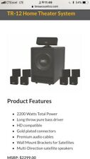 Tr-12 Home Theater System