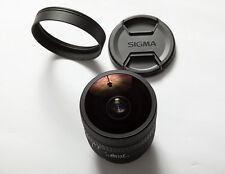 Sigma 8mm f3.5 ex dg circular fisheye for Canon EF- Extra Wide Angle!!! As New