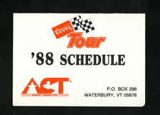 American-Canadian Coors Tour--1988 Pocket Schedule---WDEV/WVMT