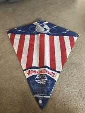 Rare Vintage Paper Kite American Beauty Mint Still Sealed, By Hi- Flier