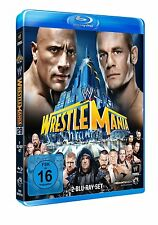 WWE WrestleMania 29 XXIX 2013 [2x Blu-ray] DEUTSCH *NEU* The Rock vs. John Cena