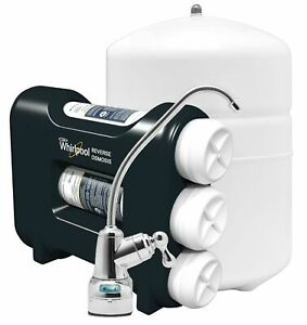 Whirlpool Triple Stage Reverse Osmosis Water Filtration System WHAROS5
