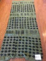 African hand made mud cloth scarf shawl (G7)