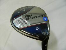 New Callaway Big Bertha 18* 5 Fairway Wood Regular Fubuki z65x5ct Graphite