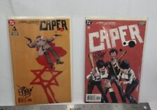 Caper (2003) Comic Issues 1-2 Autographed by Judd Winick T1