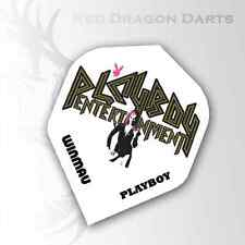 WINMAU PLAYBOY ENTERTAINMENT DARTS FLIGHTS ONE SET