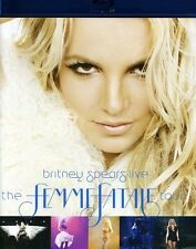 Britney Spears: Live - The Femme Fatale Tour (2011, Blu-ray NUEVO) BL (REGION A)