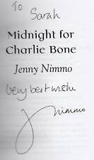 SIGNED JENNY NIMMO MIDNIGHT FOR CHARLIE BONE UNCORRECTED PROOF PAPERBACK 2002
