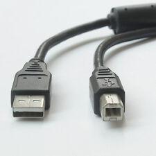 For HP,Canon,Lexmark,Epson,Dell- USB 2.0 AM-BM Printer Cable w/Pure Copper 3M