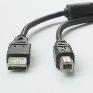 For HP,Canon,Lexmark,Epson,Dell- USB 2.0 AM-BM Printer Cable w/Pure Copper 5M