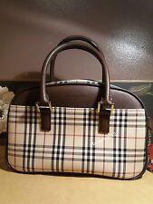 BURBERRY Signature Fabric Nova Check Satchel bag