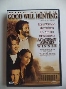 Good Will Hunting -widescreen DVD 1998 Collector's Series