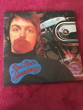 Paul McCartney Wings RED ROSE SPEEDWAY Vinyl LP Record Beatles Original Program