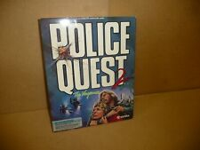 Vintage PC Game - Sierra Police Quest 2 'The Vengeance ' PC Game -3D - MS-DOS (M