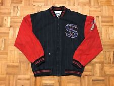 Chicago White Sox Mirage Vintage Jacket 1991 Small-Medium Rare MLB Cooperstown
