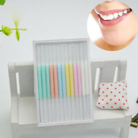 50pc / box scovolino interdentale stick floss stick dentali denti puliti oral JG