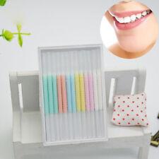 50pc/box interdental brush Floss stick dental toothpick teeth clean oral hea LC