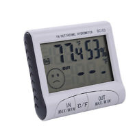 LCD Digital Hygrometer Thermometer Temperature Humidity Meter Indoor Outdoor New