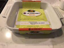 "Le Creuset Poterie Square Baking Dish - White - 9 1/4"""