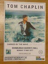 Tom Chaplin (Keane) - Edinburgh may 2017 live music show tour concert gig poster