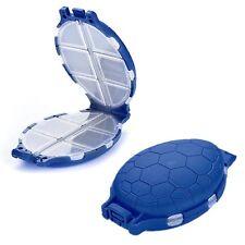 Fishing Tool Box Tackle Lure Hooks Tortoise Case Storage Fishing Accessories Box