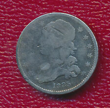 1835 Silver Capped Bust Quarter *Toning Accents Features* Free Shipping!