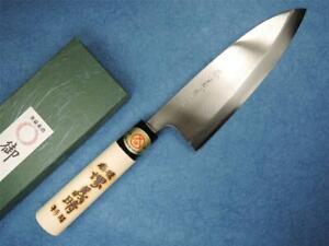 Japanese SAKAI Carbon Steel Deba Knife 165mm