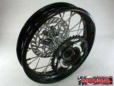 "12"" x 1.85 Pit Bike rear wheel rim disc sprocket. Piranha, SSR, Pitster Pro"