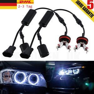 2× H8 LED Angel Eyes Standlicht für BMW E60 E61 E71 E70 LCI E90 E91 X5 X6 Z4 E92