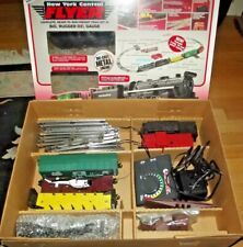 LIONEL New York Central FLYER Freight Train Set, Rugged O27 Gauge, 6-11735 w Box