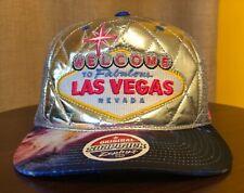NEW Welcome to Fabulous Las Vegas Women Hat - Gray Mesh Snapback