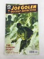 Joe Golem Occult Detective The Sunken Dead Pt 2 #5 2016 Dark Horse Comic Book