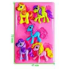 Cute poney, Pegasus & licorne moule par fairie bénédictions