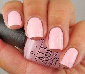 OPI Nail Polish Lacquer  ~Pink-ing of You NL S95~ Pink Creme Shade 0.5 oz!