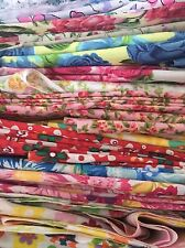 fabric scraps Pack remnants quilting patchwork poly cotton bundles lucky dip