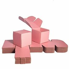 Pink Shipping Boxes For Small Business Packaging 4x4x4 Set Of 20 Pearl P