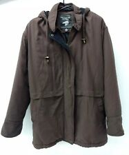 Bromley Sport Womens Winter Coat Jacket Size Small Brown
