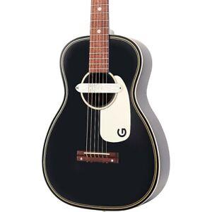 Gretsch Guitars G9520E Gin Rickey Acoustic-Electric Guitar Black