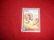 MINI BOMB TRICK NOISE MAKERS COLLECTOR CARDS NO. 6 MUTANT WORMS